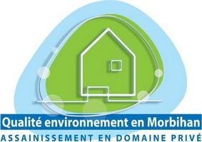 Logo charte qualité assainissement non collectif - Morbihan