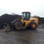 Epandage de compost sur prairies