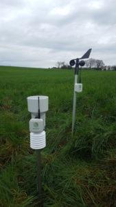 ETA Gautier - Une de nos stations météo locale