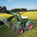 Nouveauté à l'ETA : un chargeur grande capacité sur tracteur