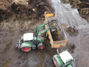Nouveau chargeur aux déchets verts